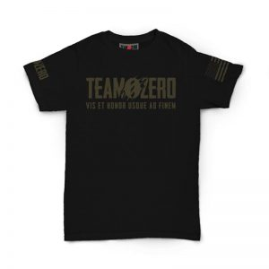 Team Zero Warrior/Skull- Black