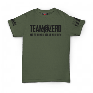 T-shirt Warrior/Skull – OD Green