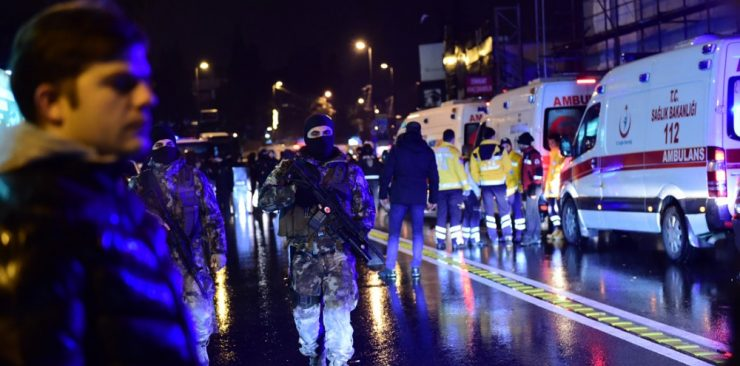 Assault in Istambul