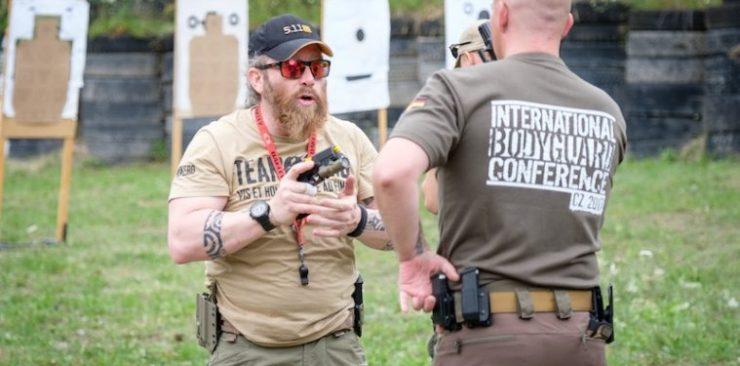 DAS WAR DIE 2 - Internationale Bodyguard Conference